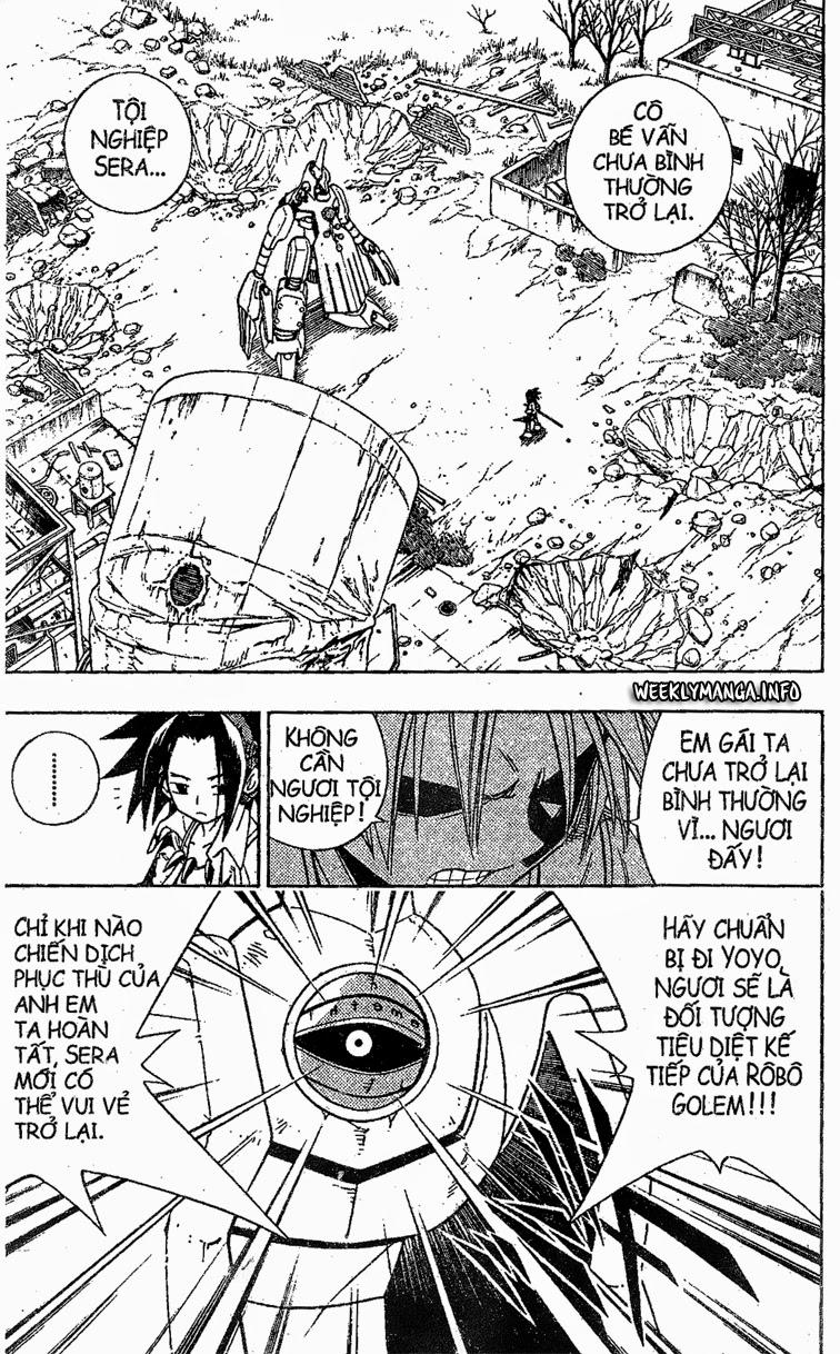 Shaman King [Vua pháp thuật] chap 192 trang 5