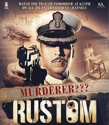 Poster Of Bollywood Movie Rustom 2016 300MB DVDScr Full Hindi Movie