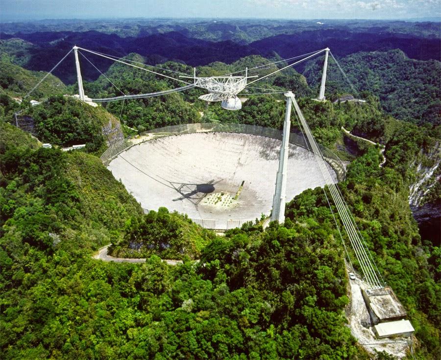 radiotelescópio projeto SETI
