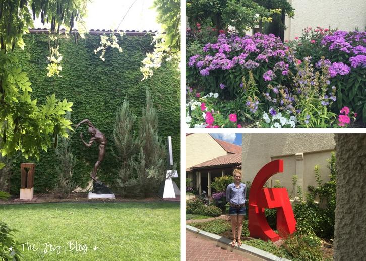The Garden at Springville Museum of Art // WWW.THEJOYBLOG.NET