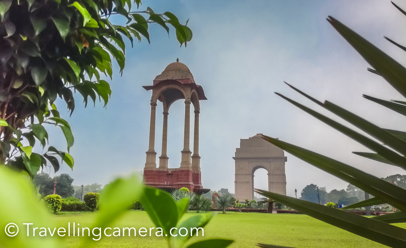 The simple, yet imposing, structure, the India Gate is also home to the Amar Jawan Jyoti - the eternal flame that is kept alight in the memory of soldiers who were martyred in the various wars and during India's struggle  for freedom. India Gate is also at the centre of the annual Republic Day Parade in Delhi, which fills every Indian's heart with pride and also showcases the strength of Indian Armed Forces to the world.