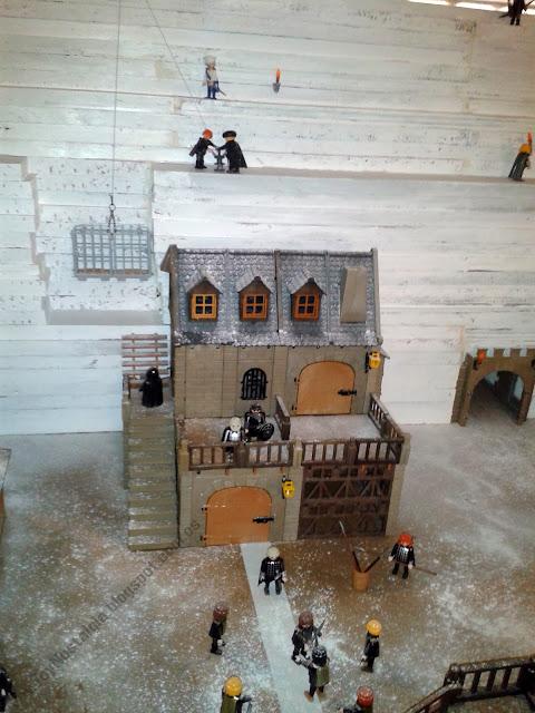 Diorama Playmobil Medieval Caballeros Knights Ritter Fantasía Fantasie