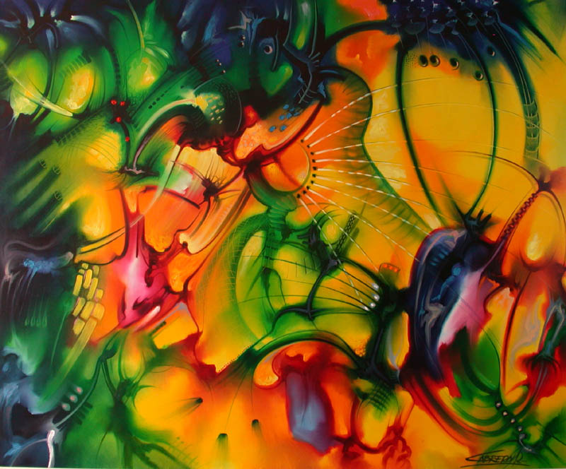 Cuadros pinturas oleos bonitos abstractos modernos for Minimal art obras y autores