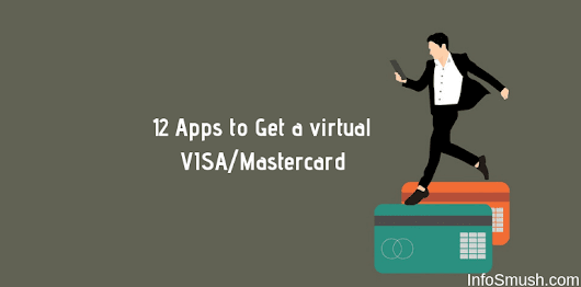 12 Apps to Get a Free Virtual Debit VISA/Mastercard(India)