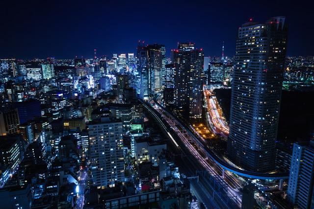 煌めく夜景~世界貿易センタービル(港区)