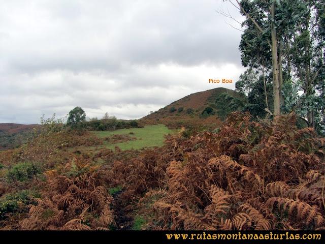 Ruta Olloniego Escobín: Subiendo el pico la Boa