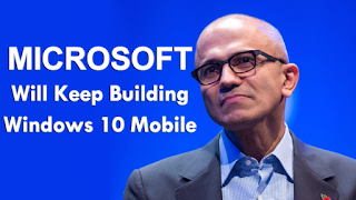Microsoft Will Keep Building Windows 10 Mobile Beyond Redstone 2