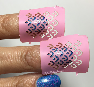 Born Pretty Store Hollow Nail Art Stencil
