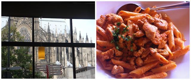 Catedral de Colônia, Alemanhavista do restaurante Maggiano´s para a Catedral de Colônia, Alemanha