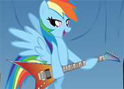 MLP Rainbow Dash Music Rock juego