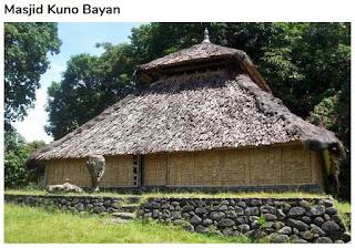Masjid Kuno Bayan di Lombok Utara
