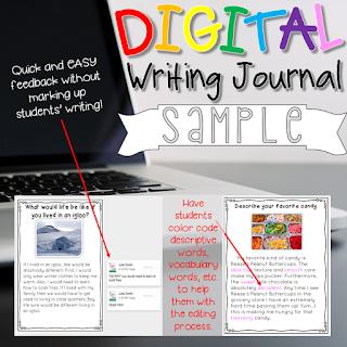 FREE Digital Writing Journal