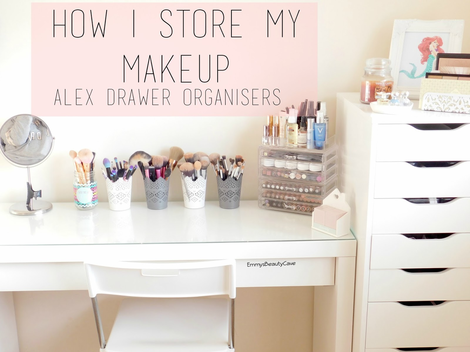 Ikea Alex Drawer Storage Ideas Makeup Malm Dressing Table