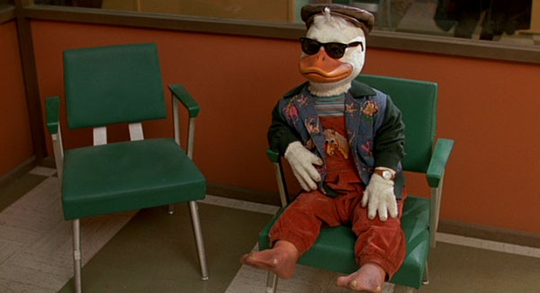 Howard the Duck, released in 1986