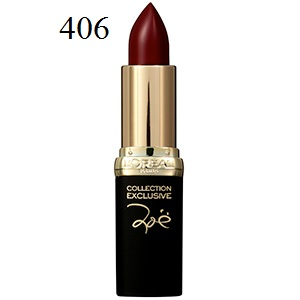Son môi lì L'Oréal Matte Colour Riche Lipcolour Collection Exclusive 406 Zoe's Red - SM031