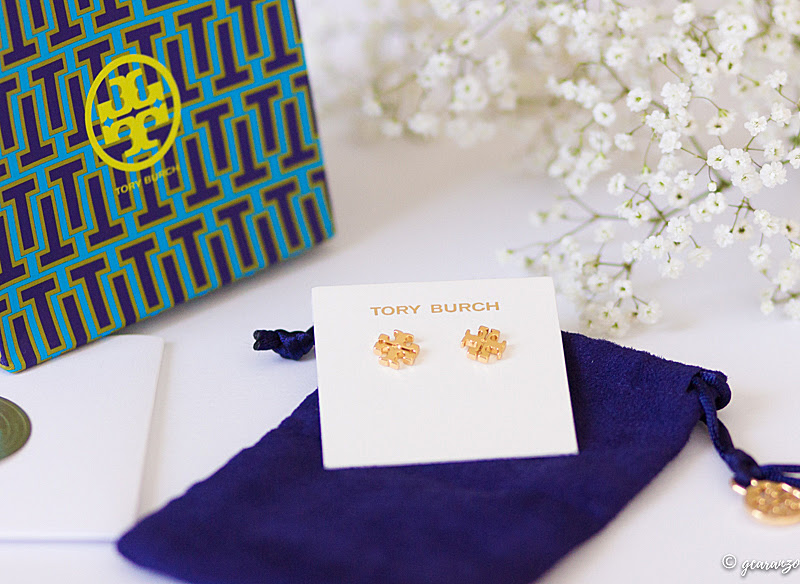 The Tory Burch Logos Stud Earrings Product Review