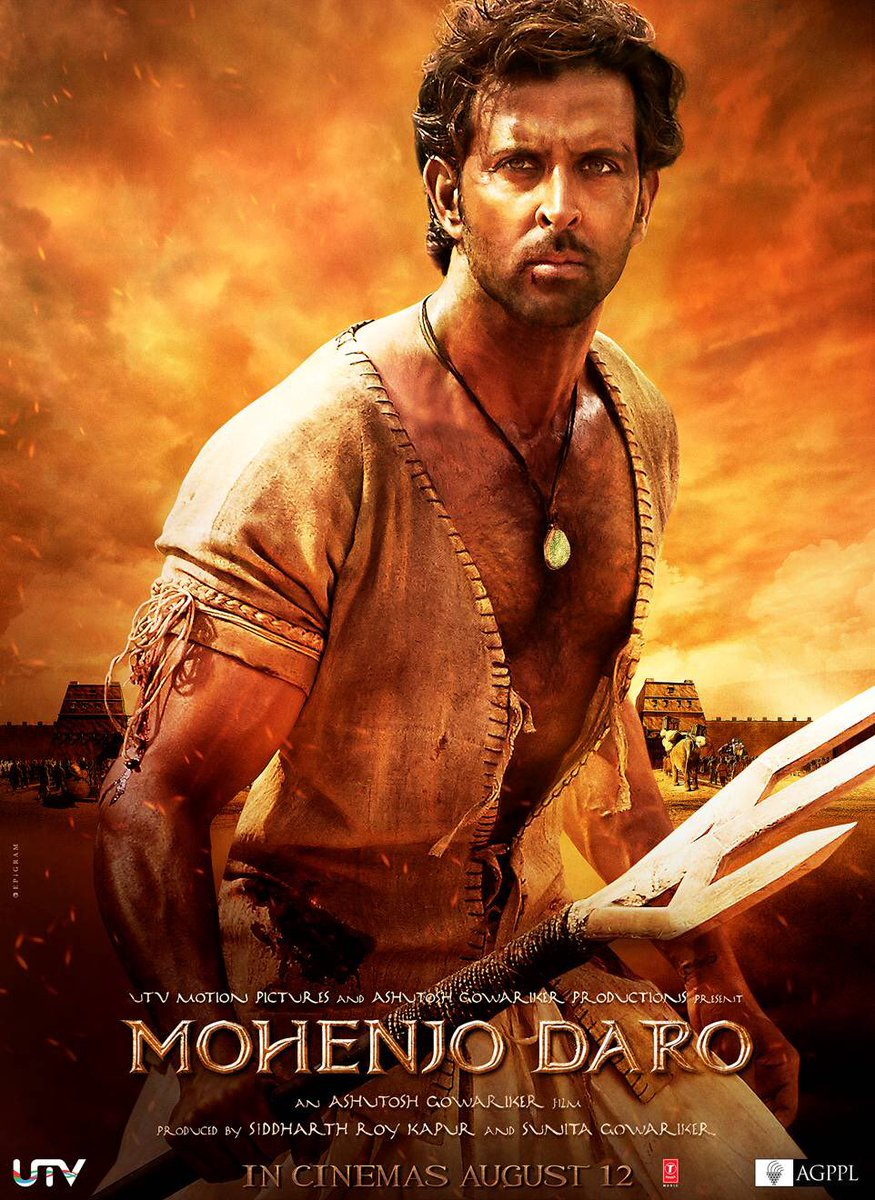Hrithik Roshan, Pooja Hegde New Upcoming movie Mohenjo Daro release date, star cast, 2016 movie Poster