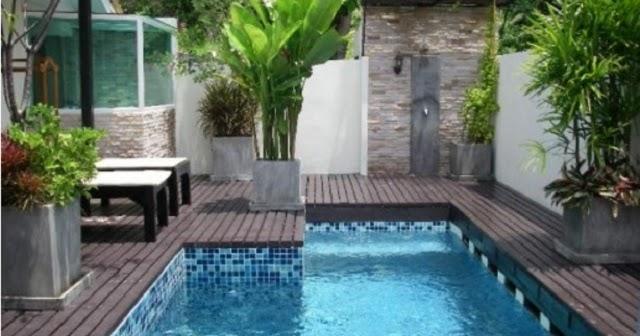 ukuran kolam renang minimal