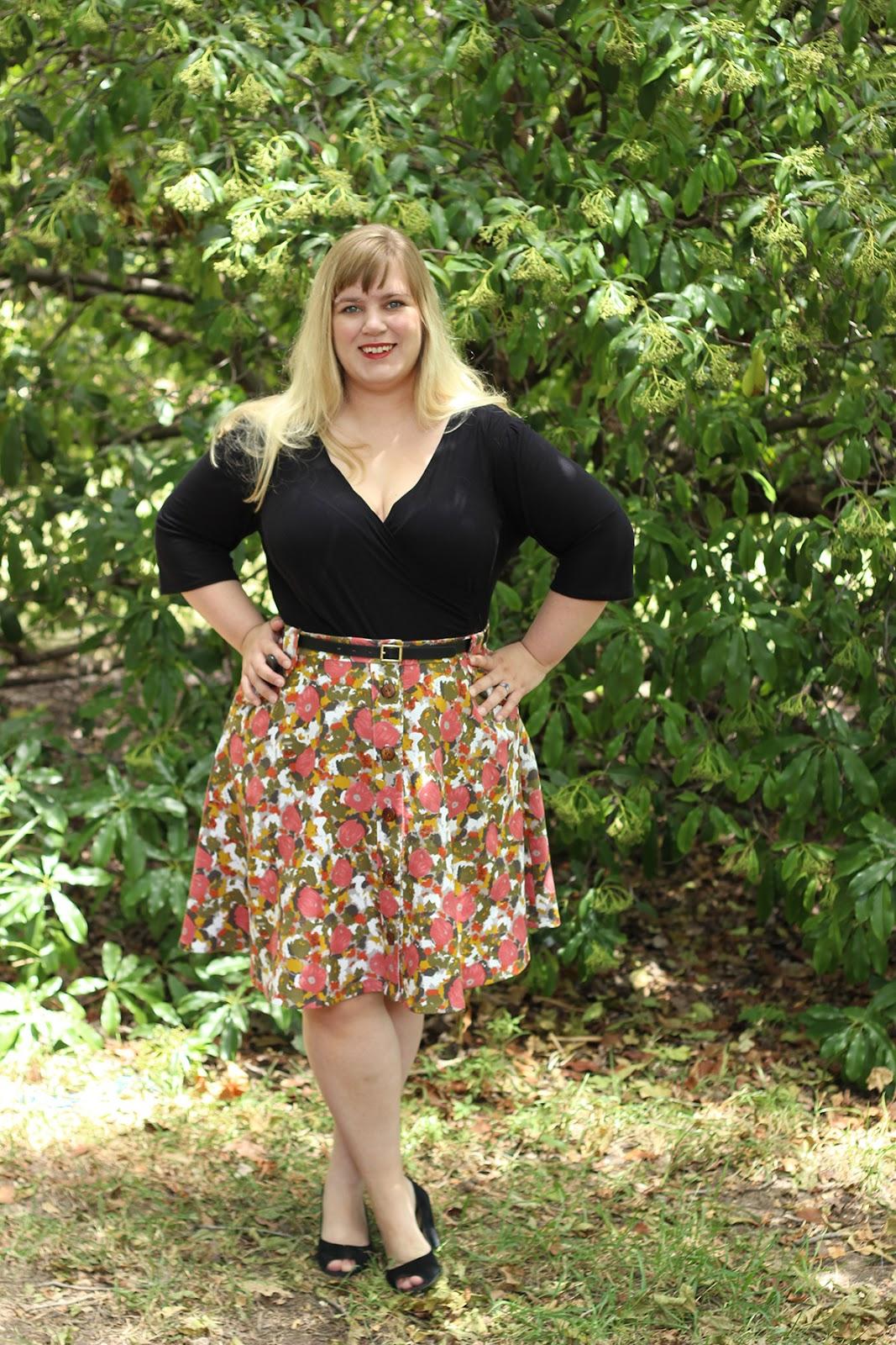 3ba03c66f8be2 Miss Poppy Makes the Deadline  Cressida Skirt