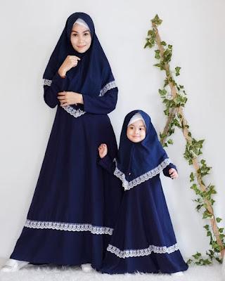 Model Baju Gamis Couple Ibu dan Anak terbaru 2019