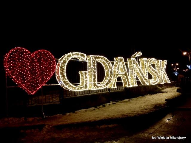 Iluminacje świetlne w Parku Oliwskim. Zimowy akcent.