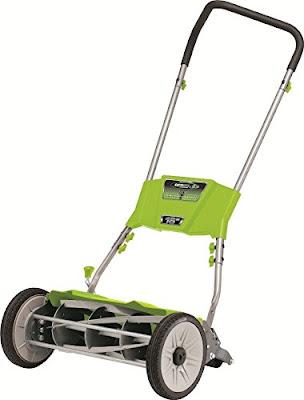 Earthwise push reel lawn mower