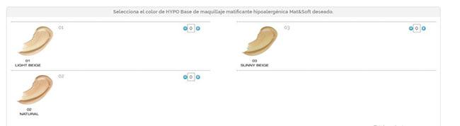 Tonos de bases de maquillaje en onlinecosmeticos.es