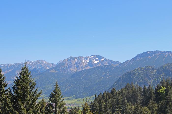 Aussicht von der Hündeleskopfhütte
