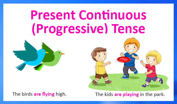 Present Continous Tense
