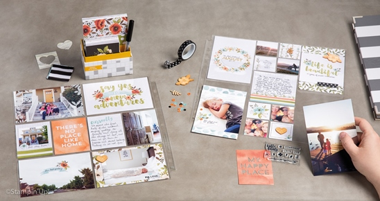Exclusive Project Life by Stampin' Up! Card Collections & Accessory Packs.