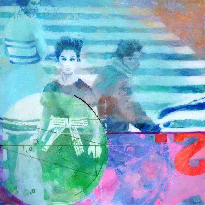 Испанский художник. Maria Bejarano