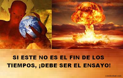 Resultado de imagen para FIN DE LOS TIEMPOS
