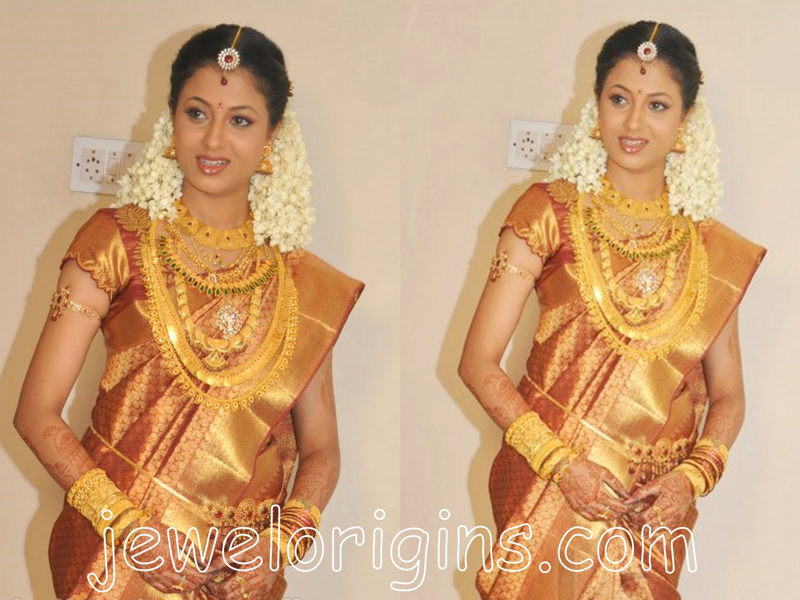 South indian bridal jewellery designs  Bridal Jewellery