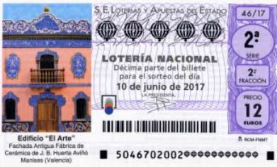 sorteo especial de junio de la loteria nacional sabado 10/06/2017