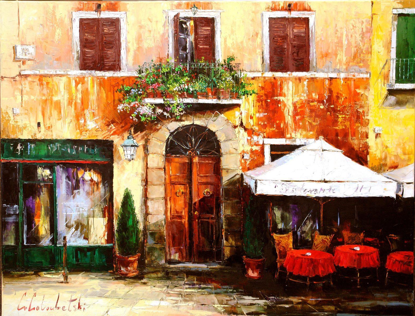 Gleb Goloubetski Cafe in Rome