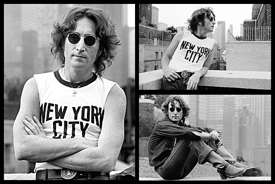 Vintage Everyday John Lennon New York 1974 By Bob Gruen