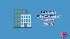 Benda-Benda Di Kantor (Office) + Pronunciation - Kosakata Bahasa Inggris
