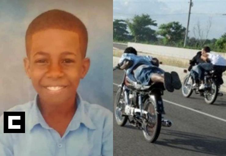 Menor de 12 años muere durante competencia de motocicletas por RD$200 en Santiago