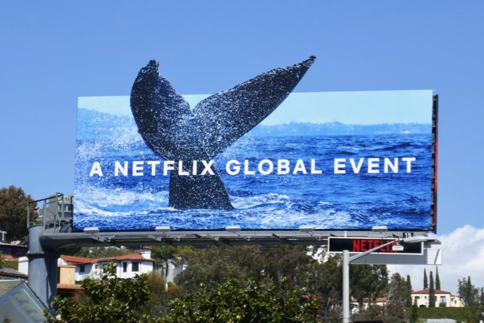 Our Planet Netflix series billboard