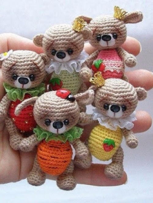 Amigurumi Little Bear - Free Pattern