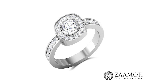 Mariko Cushion Cut Solitaire Ring
