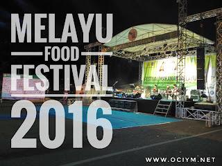 Melayu Food Festival 2016 di Pekanbaru