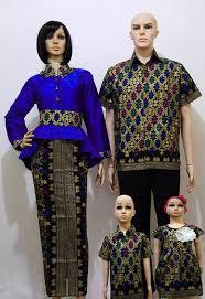 Baju Batik Muslim Seragam Keluarga