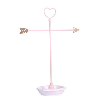 Buy Wholesale Metal Heart and Arrow Jewelry Organizer Stand at NileCorp.com