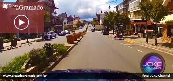 Passeio de carro por Gramado