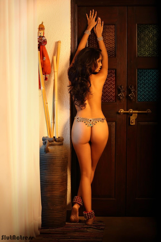Jannat Shaikh Hot Desi Model Topless Photoshoot Exposing -2460
