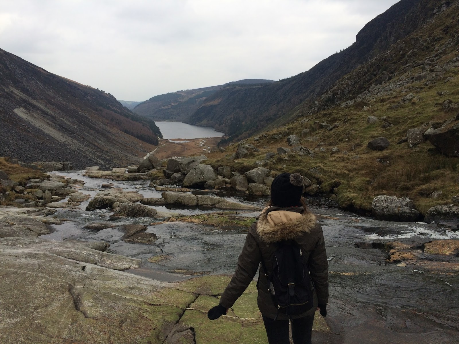 Hiking in the Wicklow Mountains, Ireland