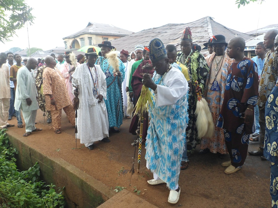 ogboni burial rites ooni ife