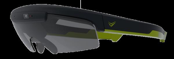 fabfd71e4 Óculos inteligentes têm um enorme potencial para ciclistas. Ser capaz de  ver informações anteriormente disponível apenas em seu computador de  ciclismo ou ...