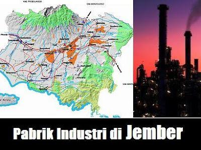 pabrik industri manufaktur Jember Jawa Timur